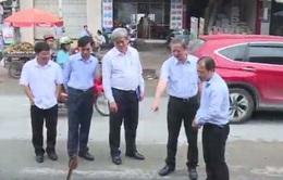 Lãnh đạo TP.HCM thị sát, tìm giải pháp chống ngập ở quận 9 và Thủ Đức