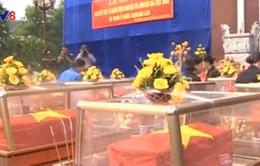Truy điệu 19 hài cốt liệt sĩ tại Lào