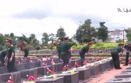 Tìm kiếm, cất bốc được 59 hài cốt liệt sĩ ở Lào, Campuchia