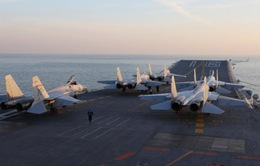 Tàu sân bay Trung Quốc tập trận trên biển Hoa Đông
