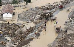Trung Quốc: Lũ lụt nghiêm trọng ở Tây Tạng