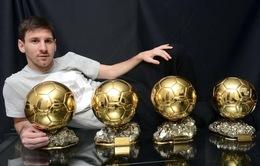Giới cầu thủ đồng lòng chọn Messi là chủ nhân Quả bóng Vàng 2015