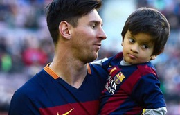 Con trai Messi không hề thích bóng đá