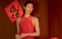 Siêu mẫu triệu phú châu Á quyến rũ trong bộ ảnh Tết