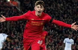 League Cup: Thắng nhẹ Leeds United, Liverpool giành vé vào bán kết
