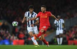 Vòng 9 Premier League: Thắng West Brom, Liverpool vẫn chưa thể lên ngôi đầu