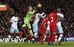 Vòng 15 Ngoại hạng Anh: Liverpool 2-2 West Ham: Rượt đuổi tỷ số
