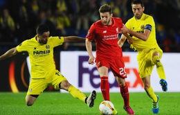 Bán kết lượt về Europa League: Liverpool quyết ngược dòng vào chung kết