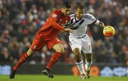 Liverpool - West Bromwich: Phá dớp hòa!