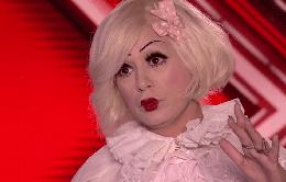 Giám khảo The X-Factor sợ hãi trước búp bê sống biết hát