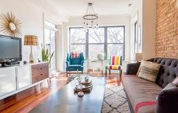 Ấn tượng căn hộ vintage mang màu sắc rực rỡ