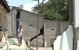Đồng Nai: 20 hộ dân sống trong sợ hãi vì nhà nứt toác, sụt lún