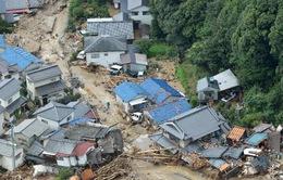 Mưa lớn gây lở đất tại Nhật Bản, 4 người thiệt mạng