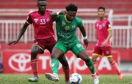 Long An - Sài Gòn FC: 17h00 ngày 31/7 trực tiếp trên VTV6 (Vòng 18 V.League)