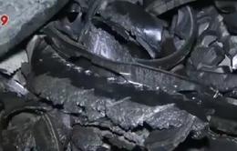 Sóc Trăng: Công ty gạch men đốt lốp ô tô gây ô nhiễm môi trường
