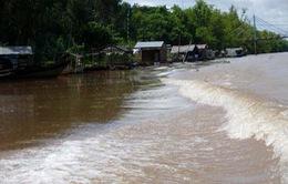 Lũ ở Đồng bằng sông Cửu Long về chậm