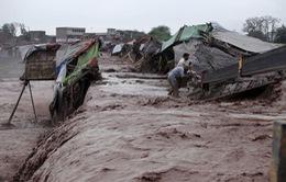 Lũ lụt tại Pakistan, 55 người thiệt mạng