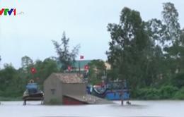 Ngập lụt, nhiều xã tại Quảng Bình trở thành ốc đảo