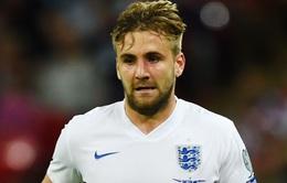 Luke Shaw bất ngờ rút khỏi ĐT Anh