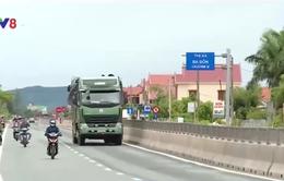Quảng Bình: Khắc phục hằn lún trên Quốc lộ 1A