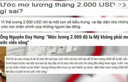 Ước mơ lương tháng 2.000 USD có viển vông?