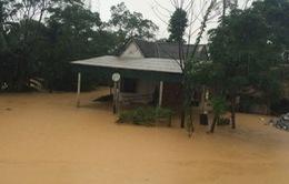 Lũ trên các sông ở Thừa Thiên - Huế, Quảng Nam còn ở mức cao