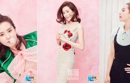 Lưu Thi Thi đa phong cách trong loạt ảnh mới