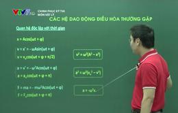 Ôn thi Đại học môn Vật lý: Các hệ dao động điều hòa thường gặp