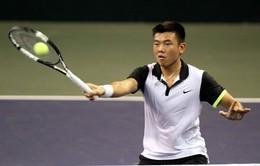 Lý Hoàng Nam tụt 7 bậc trên bảng xếp hạng ATP