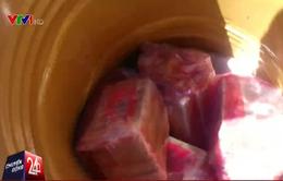 Colombia thu giữ gần nửa tấn cocaine giấu trong dâu tây