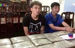 Nghệ An bắt giữ 2 đối tượng vận chuyển ma túy trái phép