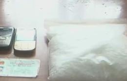 Bắt 4 đối tượng tàng trữ 2,1 kg ma túy đá