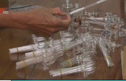 Thu giữ lượng lớn dụng cụ sử dụng ma túy đá tại Bình Định