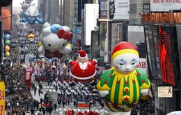 Hoành tráng cuộc diễu hành nhân lễ Tạ ơn tại Mỹ