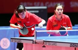 Bóng bàn nữ Việt Nam lần đầu tiên vào tứ kết nhóm II thế giới