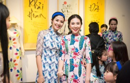 Cô gái thời tiết Mai Ngọc đọ sắc bên Hoa hậu Ngọc Hân