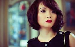 Mai Thu Huyền trổ tài ca hát trên sóng truyền hình