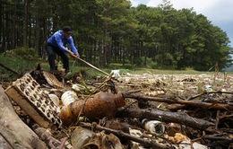 Hồ chứa nước cấp cho Đà Lạt ô nhiễm nặng