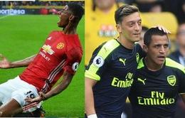 Kết quả vòng 3 Ngoại hạng Anh: Man City lên đầu bảng, Man Utd thắng nhờ Rashford