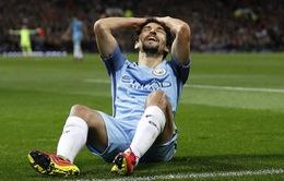 """Thống kê tệ hại """"xát muối"""" vào trận thua của Man City"""