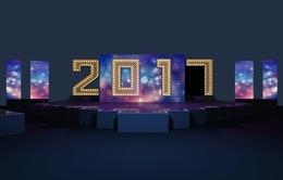 Dàn sao hội tụ trong chương trình chào năm mới 2017 của VTV
