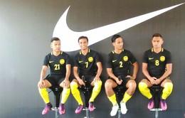 Malaysia công bố áo đấu mới tại AFF Suzuki Cup 2016