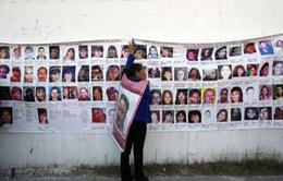 Mexico: Hơn 4.000 người mất tích trong năm 2015
