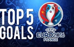 VIDEO EURO 2016: Những pha làm bàn khó tin ở vòng 1/8