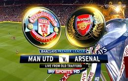 Lịch trực tiếp vòng 12 Ngoại hạng Anh: Hồi hộp chờ đại chiến Man Utd – Arsenal