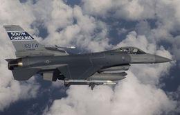 Mỹ triển khai 12 máy bay chiến đấu F-16 tới Hàn Quốc
