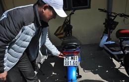 TP.HCM: Phạt xe máy điện không đăng ký biển số từ 1/7