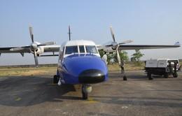 Lực lượng cứu hộ tiếp cận khu vực máy bay CASA 212 gặp nạn