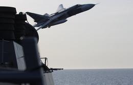 Nga lên tiếng về việc máy bay chiến đấu áp sát tàu khu trục Mỹ