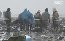 Máy bay Fly Dubai rơi ở Nga do phi công bị kiệt sức?